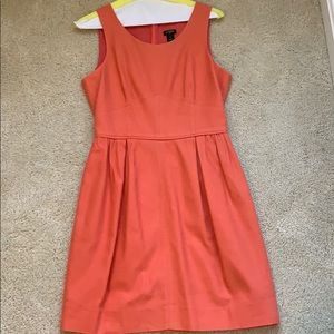J. Crew Coral Dress with Pockets Size 2